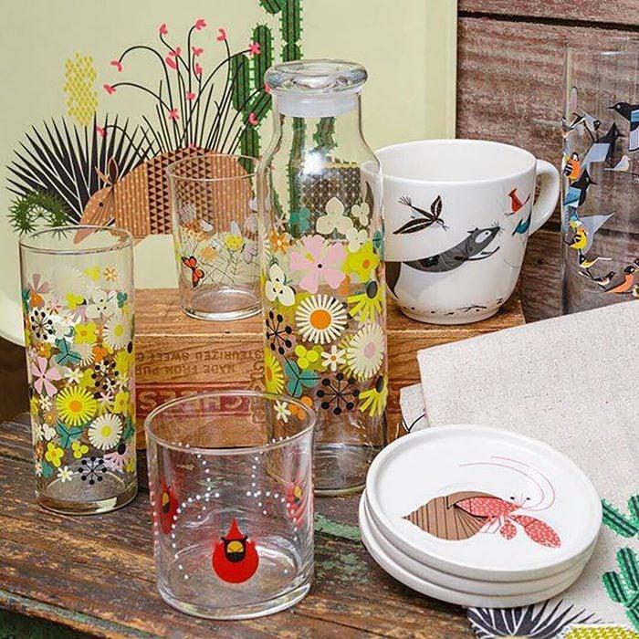 Fishs Eddy drinkware and kitchen decor