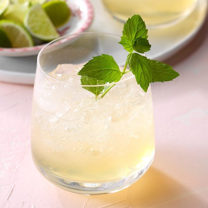 Ginger Mint Julep Cocktail
