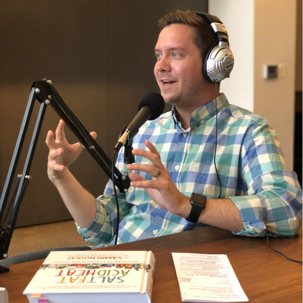 Brian Stewart, host of the Salt + Spine podcast.