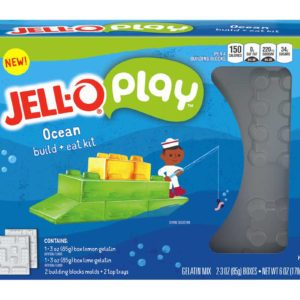 Jell-O Just Launched DIY Edible Building Blocks for Kids