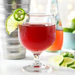 Jalapeno Pomegranate Cocktail