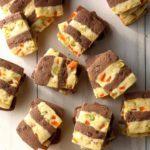 Mango Fudge Refrigerator Ribbon Cookies