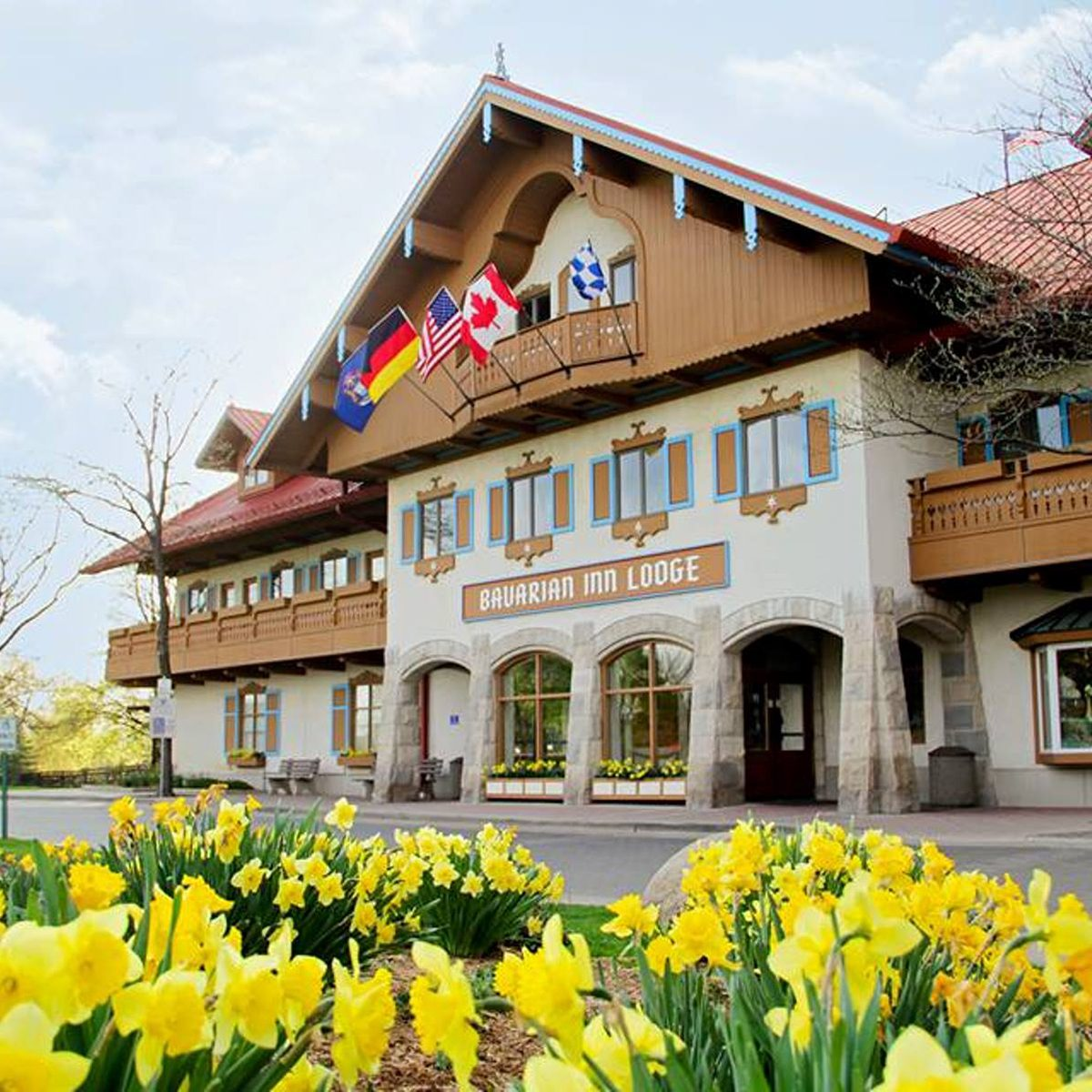 Exterior of the Bavarian Inn