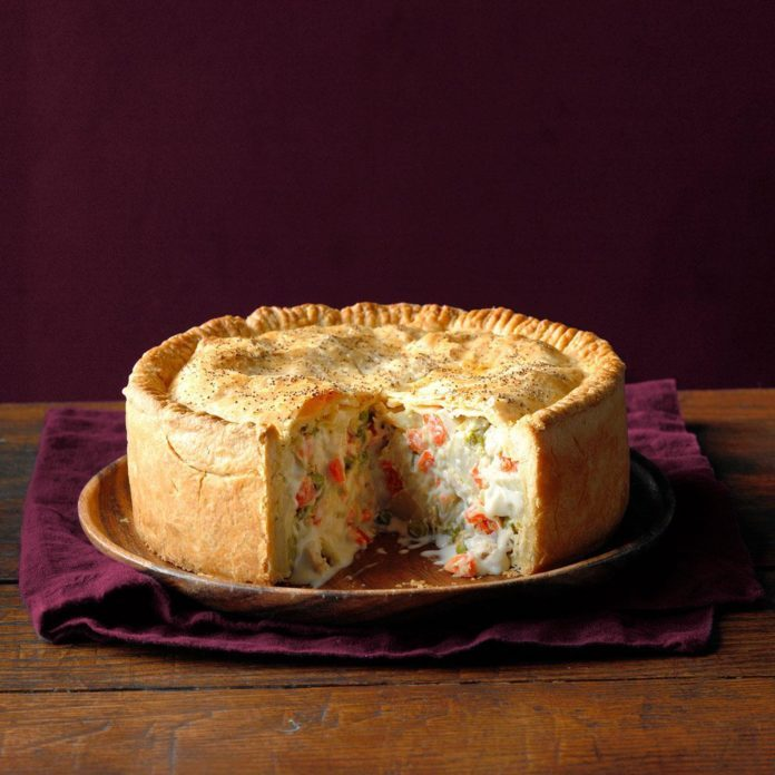 Mile-High Chicken Potpie