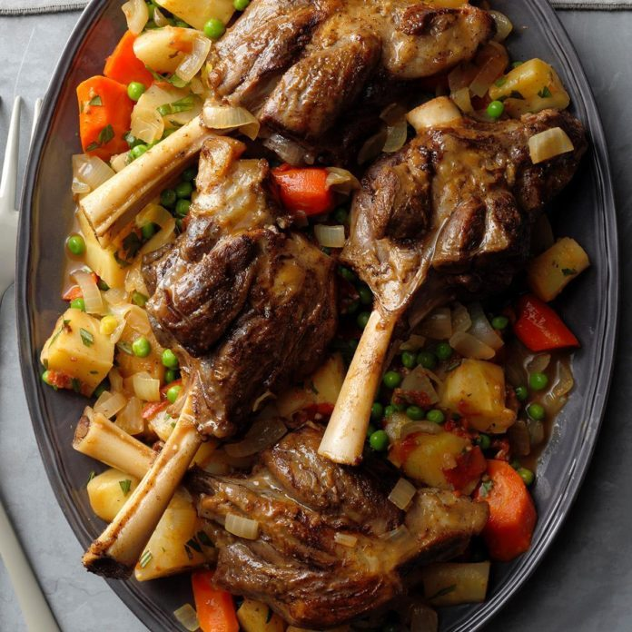 New Zealand Rosemary Lamb Shanks