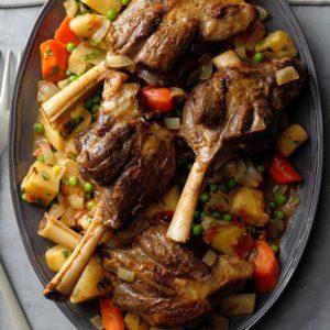 New Zealand Rosemary Lamb Shanks
