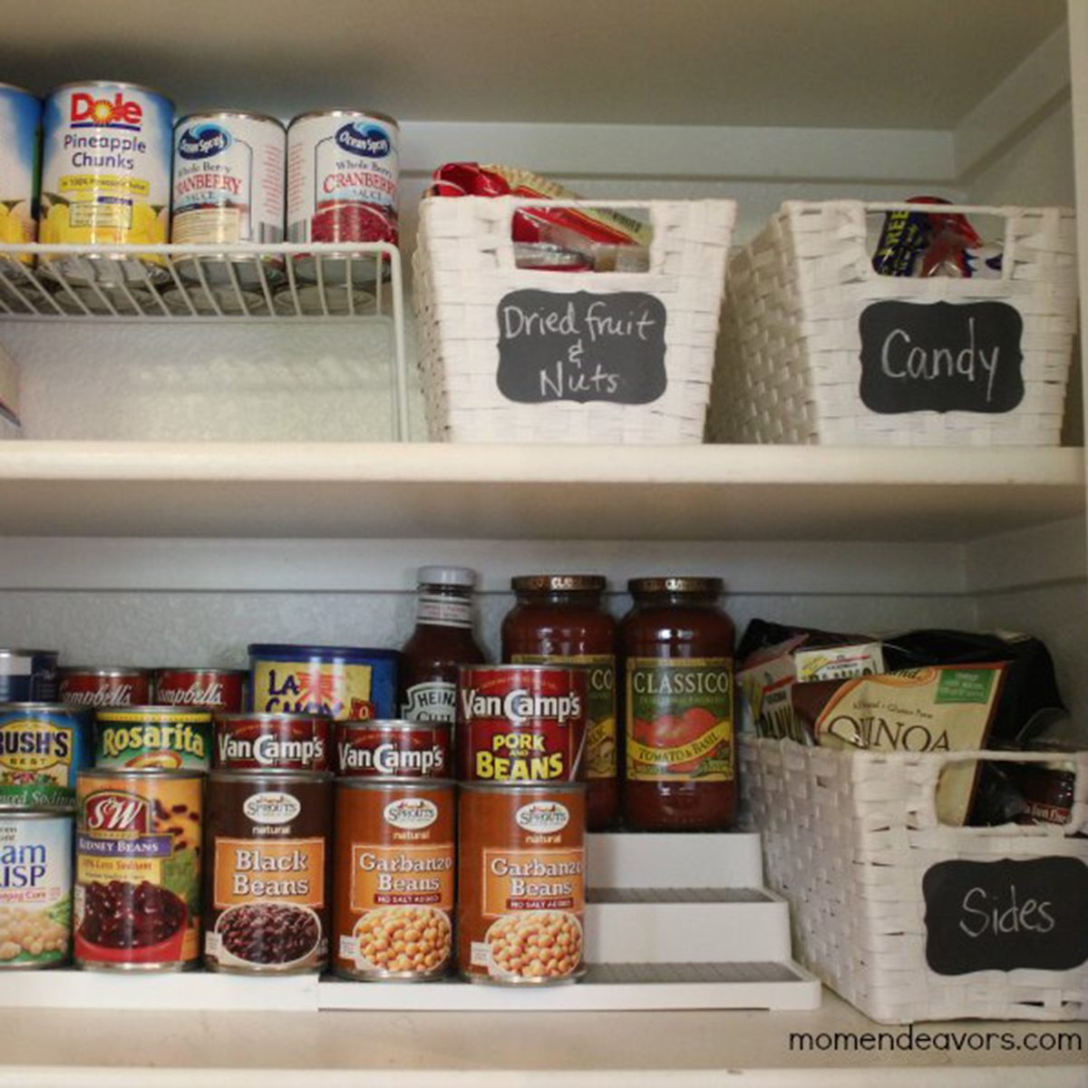 Mom Endeavors Pantry-Can-Organization