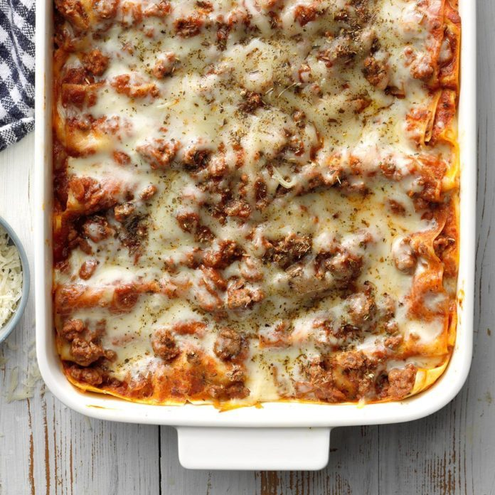 Day 10: Perfect Four-Cheese Lasagna