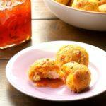 Pumpkin Hush Puppy Meatballs