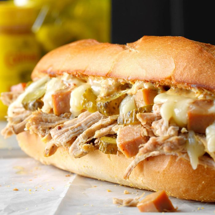 Grand Prize: Slow Cooker Cubano Sandwiches