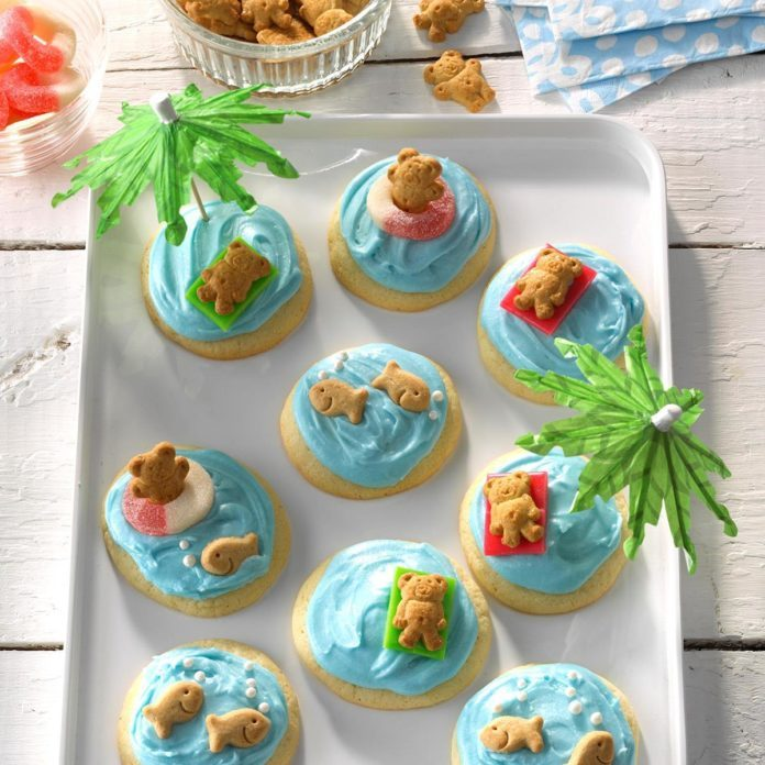 Summertime Fun Cookies