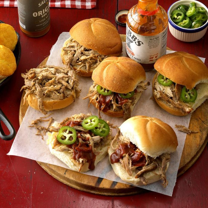 Spiced Pulled Pork Sandwiches