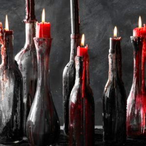 How to Make Spooky-Easy Halloween Candle Holders