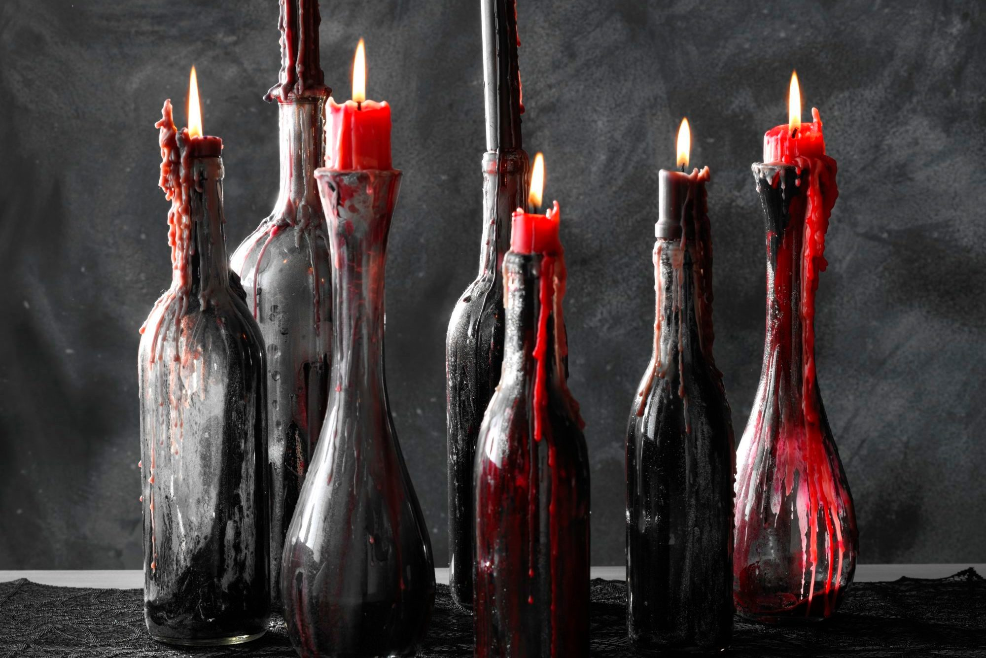 How To Make Spooky Easy Halloween Candle Holders