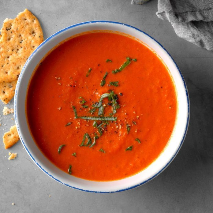 The Best Ever Tomato Soup Recipe | Taste of Home