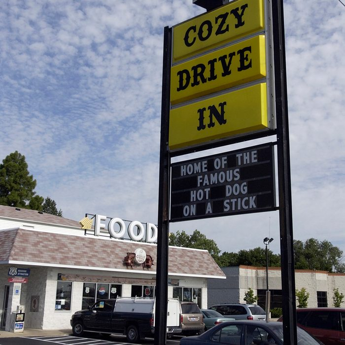 The Cozy Dog Drive-In