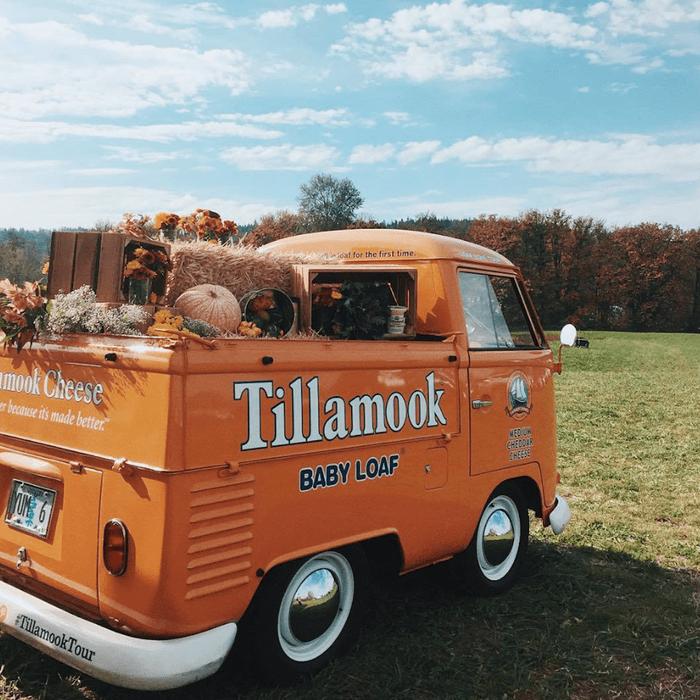 Tillamook Creamery's truck