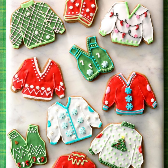 Ugly Sweater Cookies
