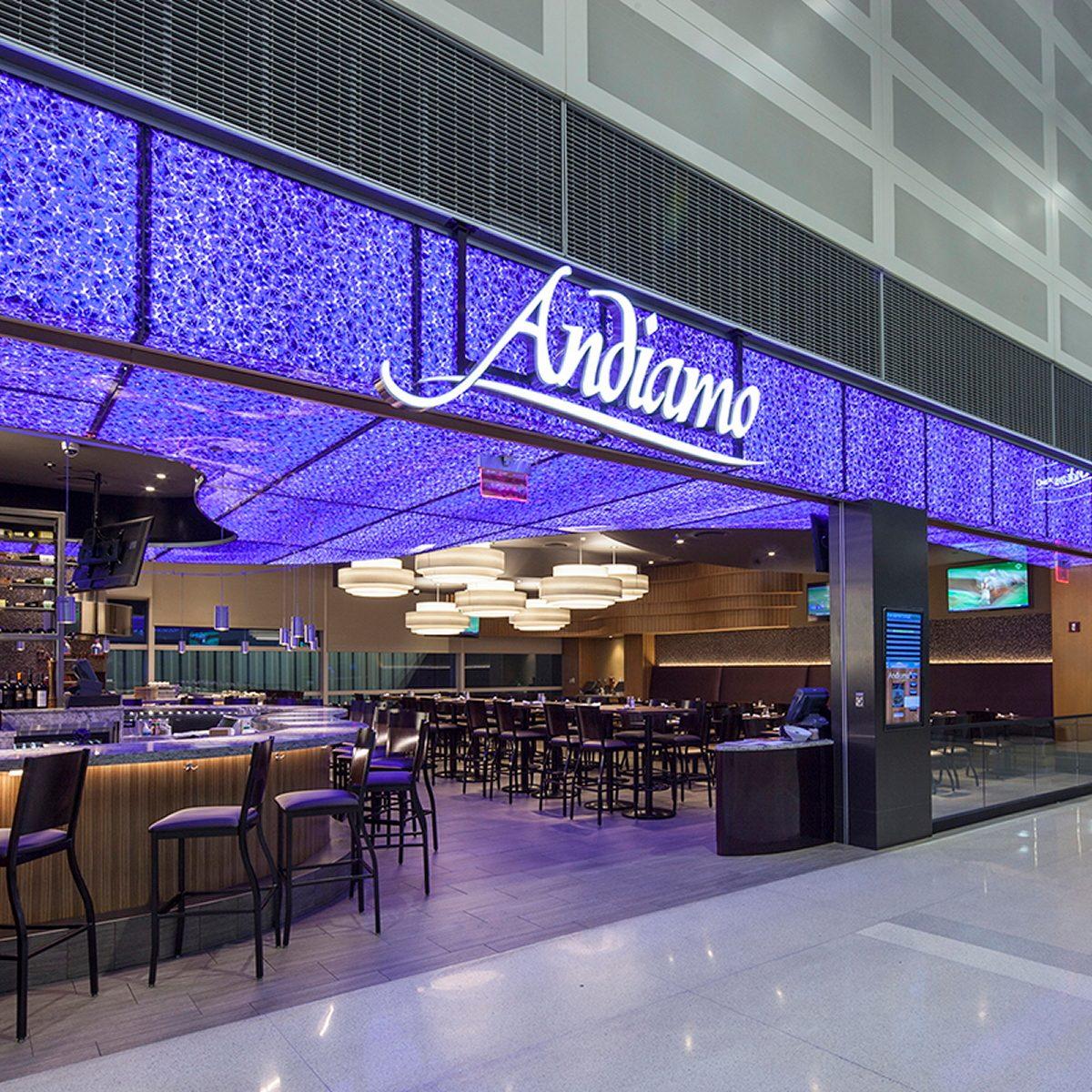 best airport restaurants Andiamo