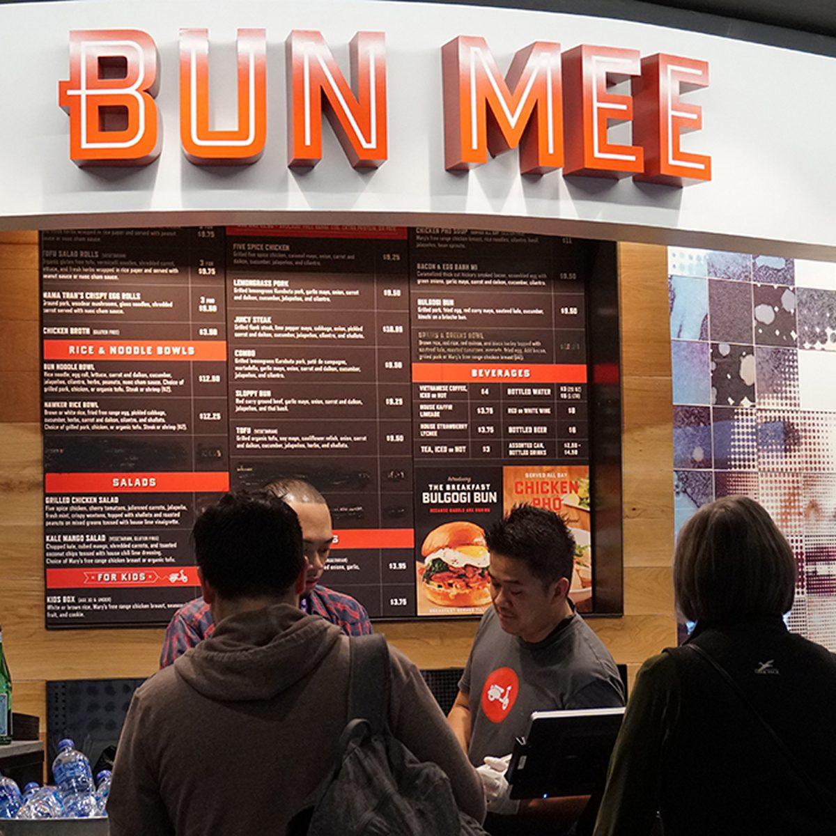 best airport restaurants bun mee