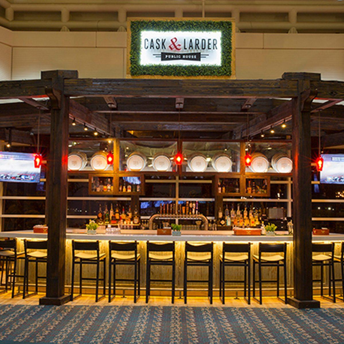 best airport restaurants cask and larder