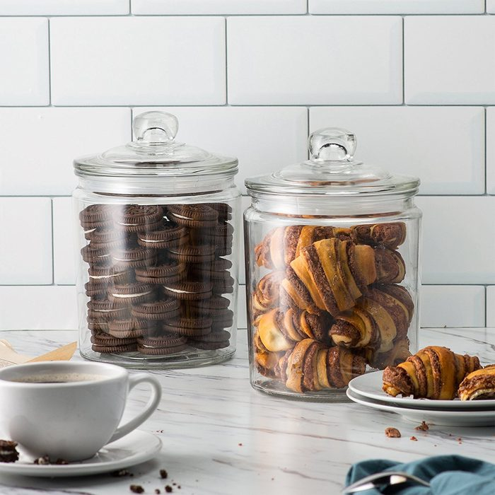 gifts for chocolate cookie lovers, cookie jar