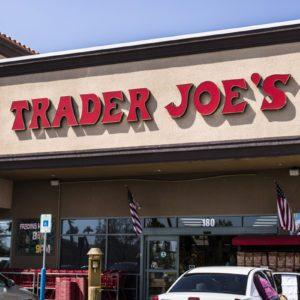 Trader Joe's Retail Strip Mall Location.