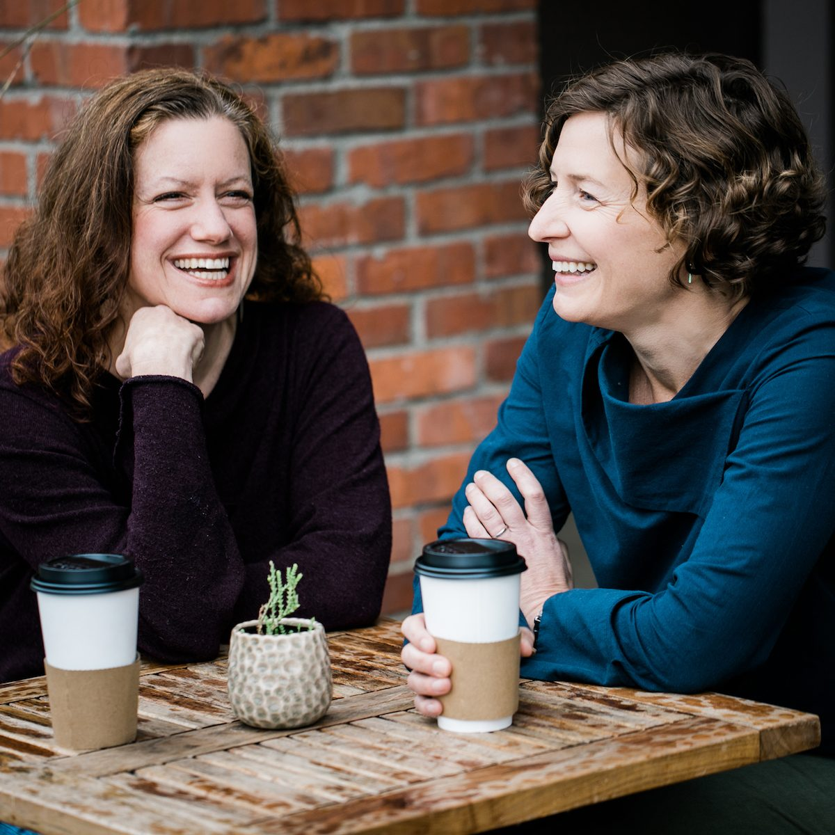 Cynthia Graber and Nicola Twilley, hosts of the Gastropod podcast.