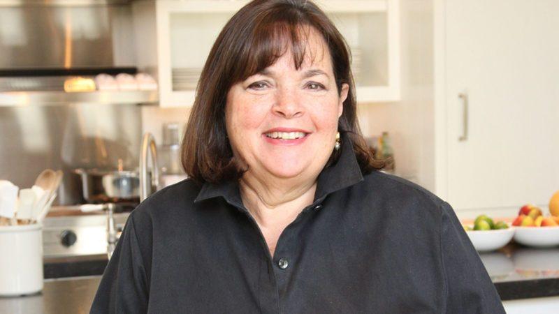 Chef Ina Garten at her East Hamptons home.