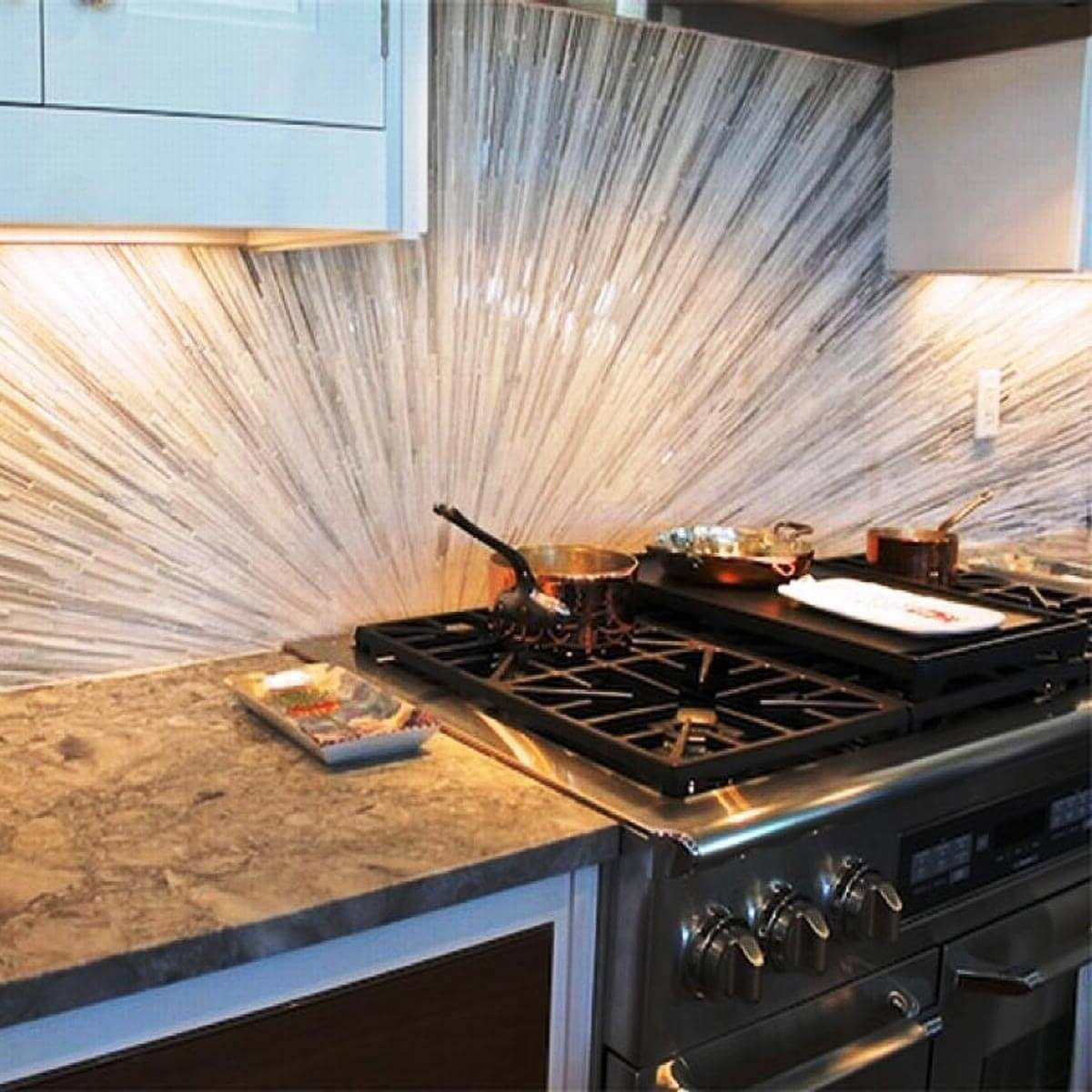 Backsplash Materials: 30 Kitchen Backsplash Ideas