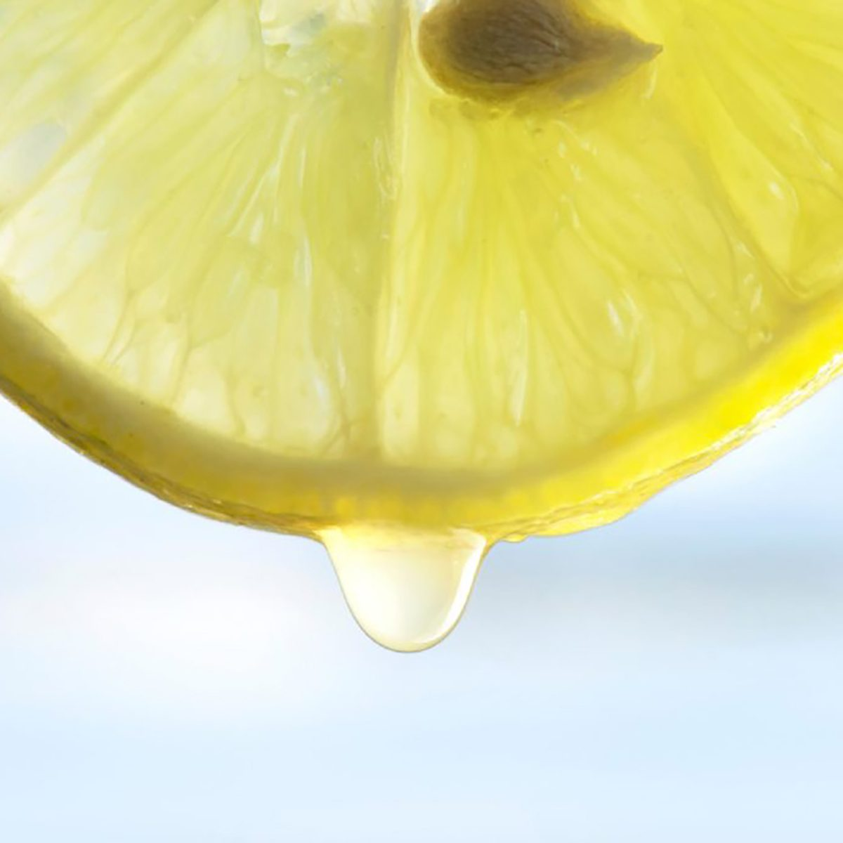lemon slice dripping juice, best natural cleaning products