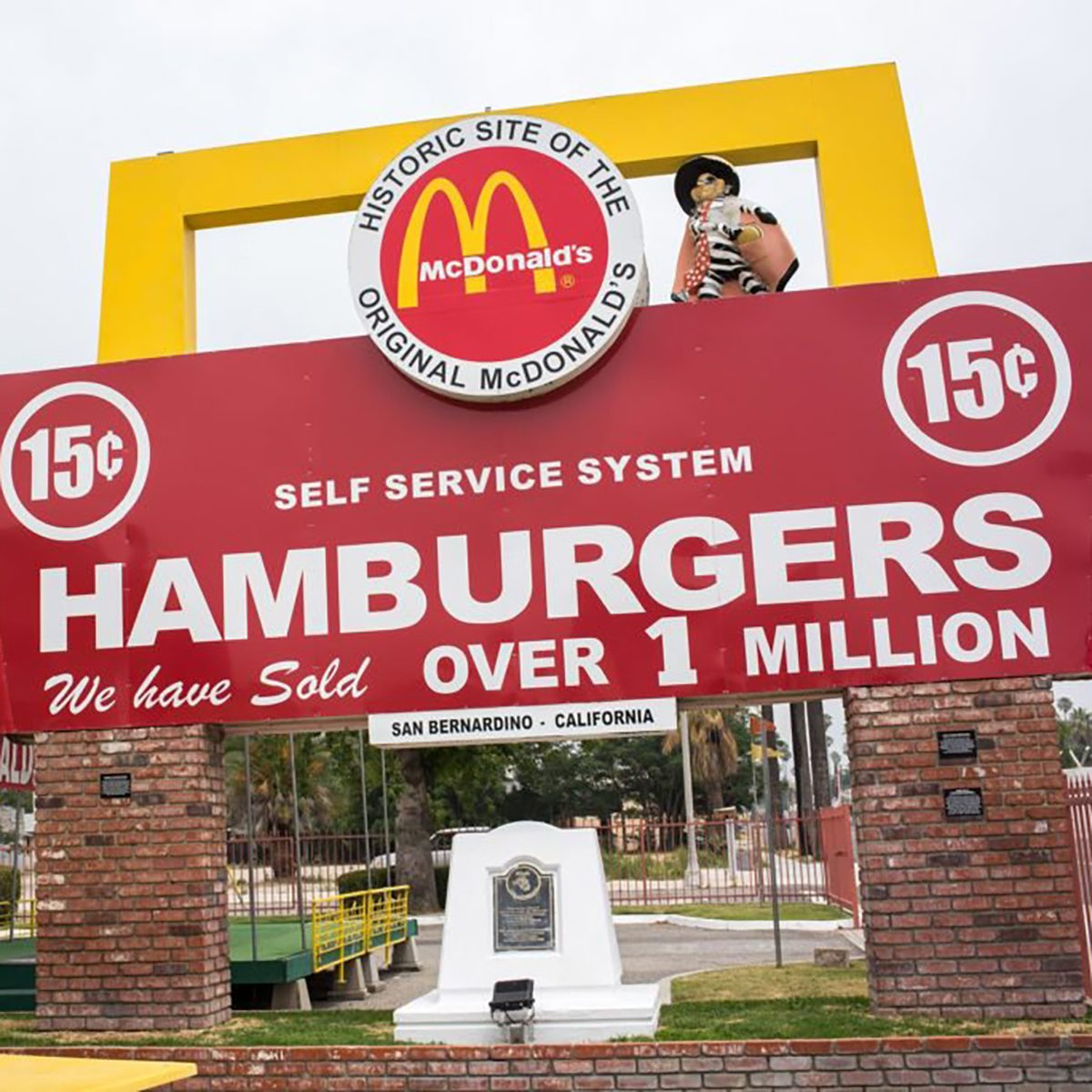 McDonald's hamburgers original location