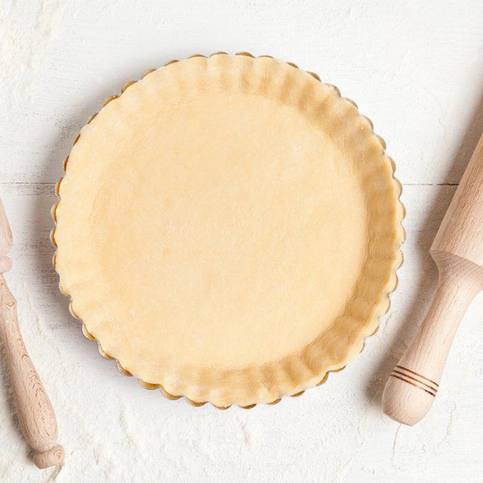 Homemade tart pie preparation