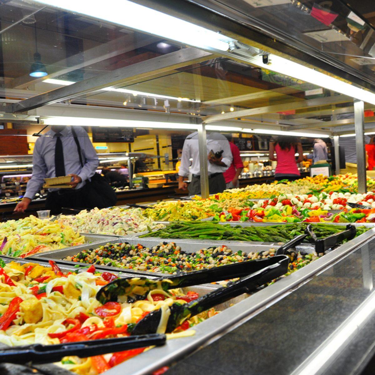 American supermarket.