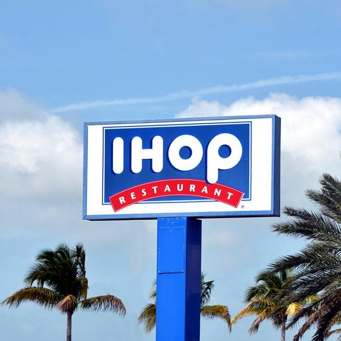 a IHOP retail chain restaurant in Key West, Florida