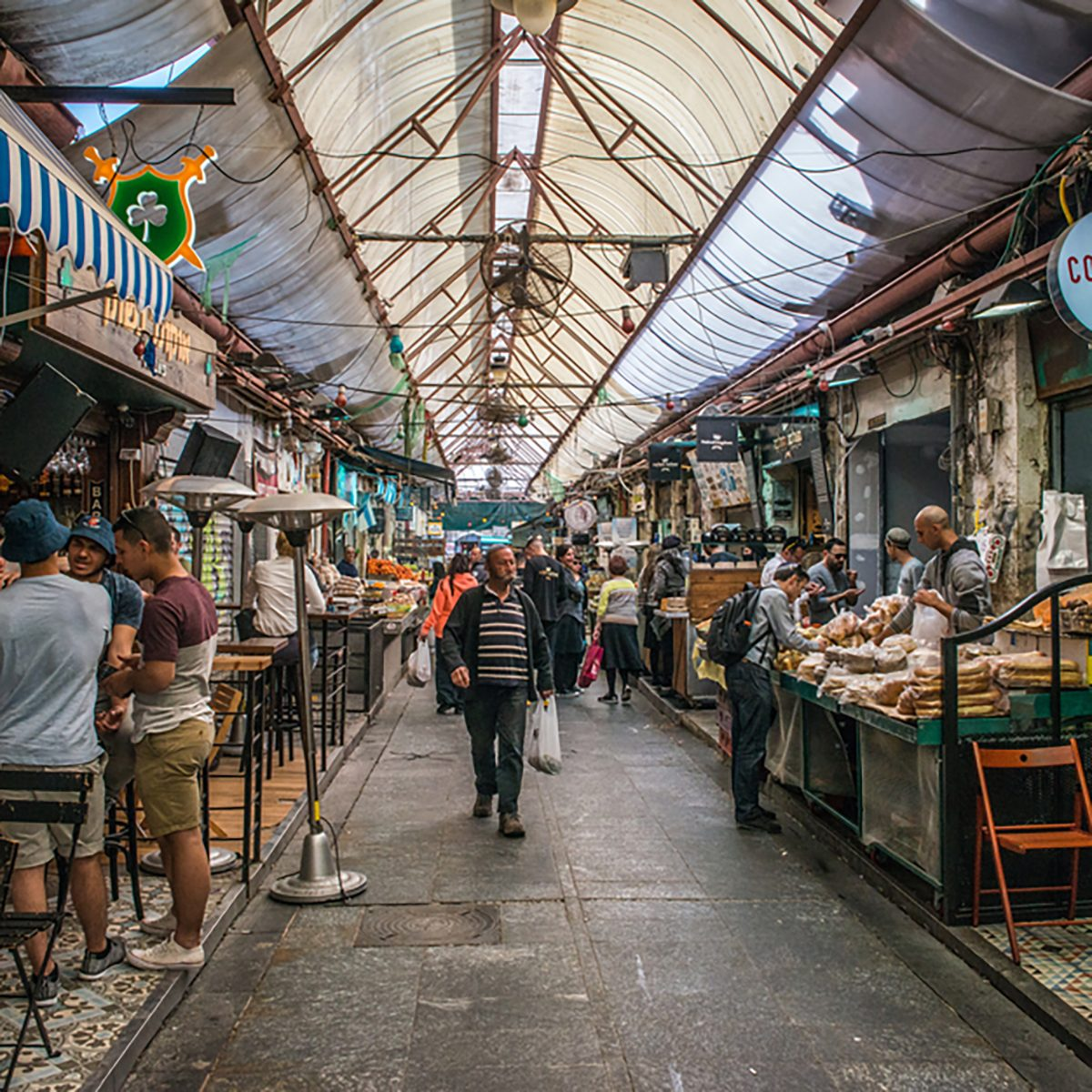 Mahane Yehuda Market is a marketplace in Jerusalem, Israel. Popular with locals and tourists alike, the market's more than 250 vendors