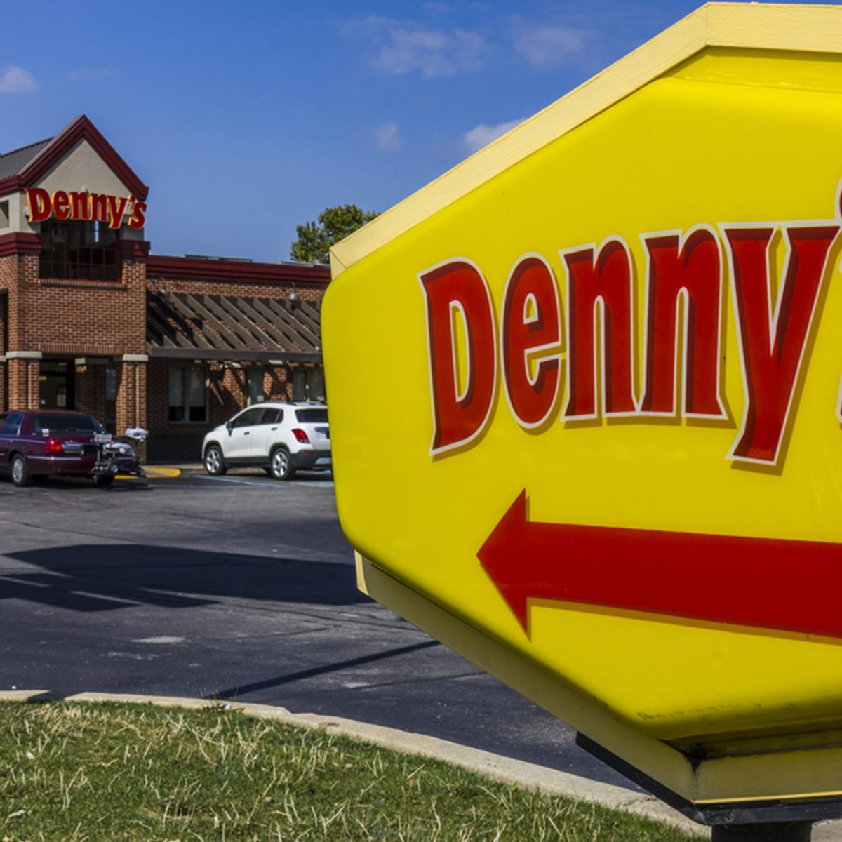 Denny's Fast casual restaurant and diner.