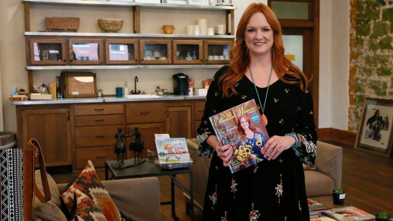 "Ree Drummond is pictured during an interview in Pawhuska, Okla, . Growing up in a town she considered ""too small,"" Drummond sought the bright lights of a city, and wound up in an even smaller town where she has built a virtual media empire on the Plains of northeast Oklahoma"