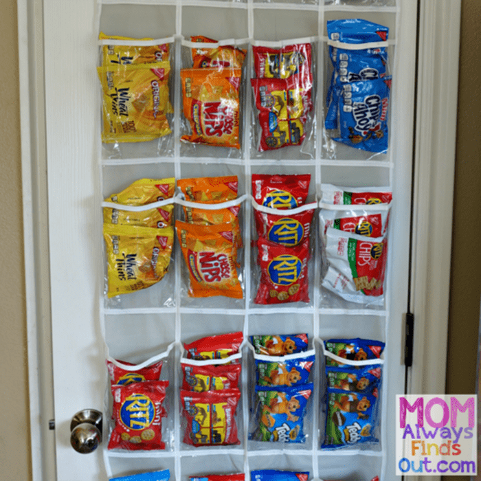 Mom Always Finds Out snack-organizer