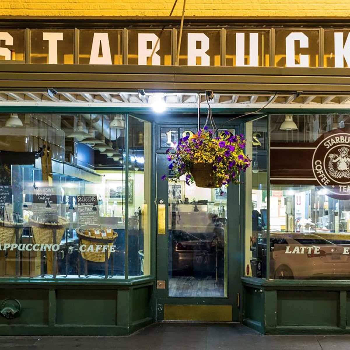 first starbucks location