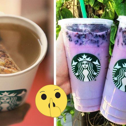39 Starbucks Secret Menu Drinks You Won't Want to Miss