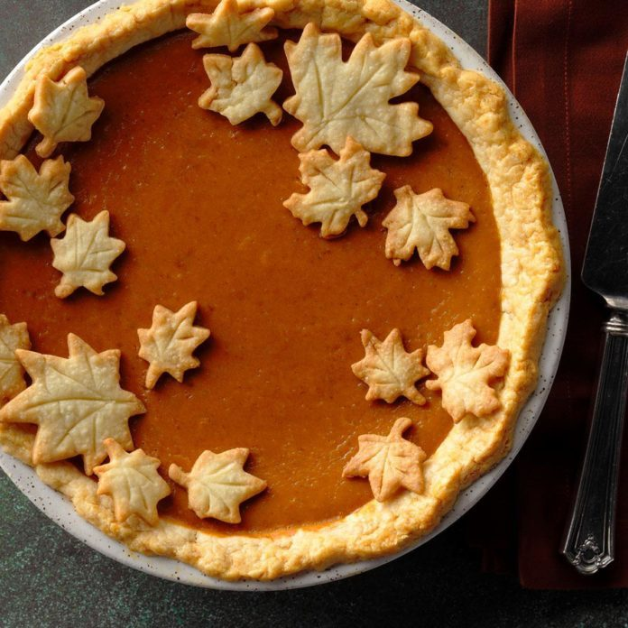 Five-Spice Pumpkin Pie