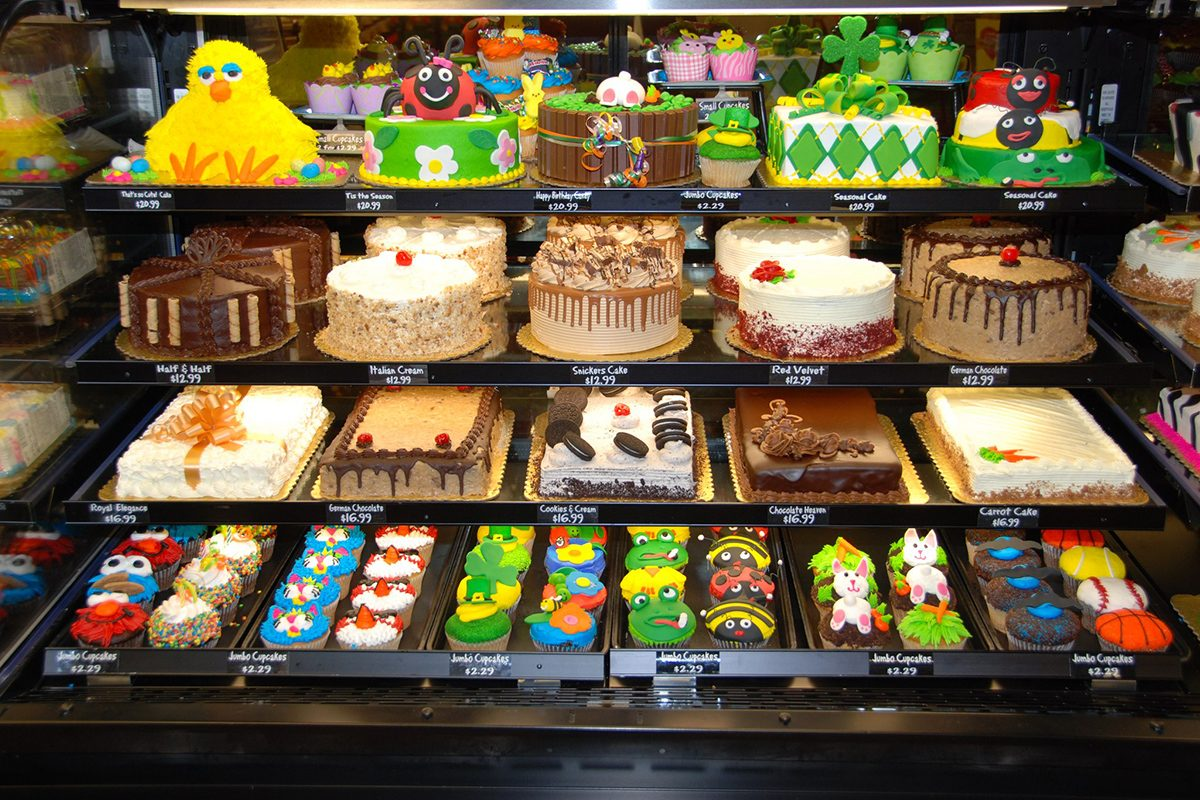Fantastic The 5 Best Grocery Store Cakes You Can Buy Taste Of Home Personalised Birthday Cards Cominlily Jamesorg