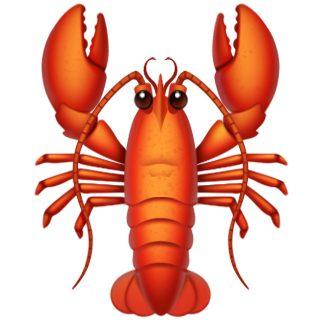 Apple's lobster emoji