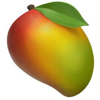 Apple's mango emoji