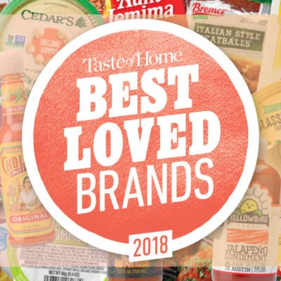 Taste of Home's Best Loved Brands