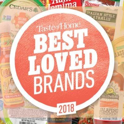 Taste of Home's Best Loved Brands