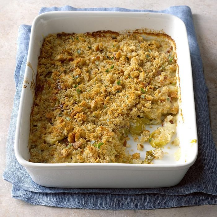Brussels Sprouts Brown Betty