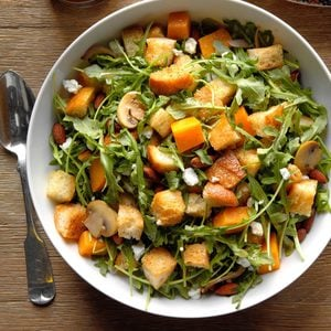 Butternut Squash Panzanella Salad