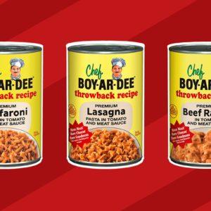 Introducing Chef Boyardee's Throwback Recipes